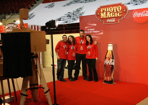 Coca Cola Photomagic